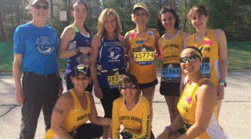 Striders at Boston Marathon 2016